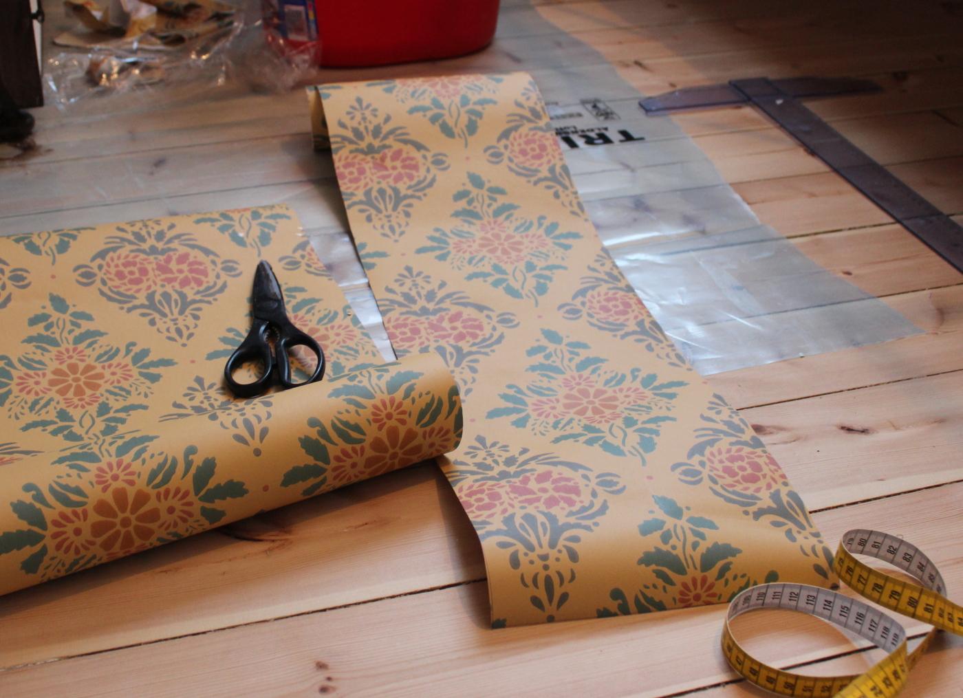 Inredning måla på gammal tapet : Tapeter | Mitt sekelskifteshus | Sida 2